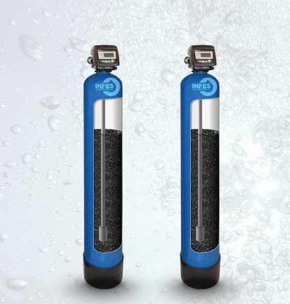Aktyvuotos anglies filtrai. Automatiniai aktyvuotos anglies filtrai. Automatiniai aktyvuotos anglies filtrai vandeniui. Aktyvuotos anglies vandens filtrai. Anglies filtrai vandeniui - INFES technologijos.