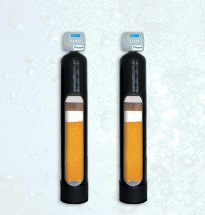 """HIMTA daugiafunkciniai vandens valymo filtrai. HIMTA daugiafunkciniai vandens valymo filtrai su """"ECOMIX"""" užpildu. Automatiniai, savaime prasiplaunantys HIMTA vandens valymo filtrai. Automatiškai prasiplaunantys vandens filtrai. Daugiafunkciniai vandens valymo filtrai su automatine regeneracija - INFES technologijos."""