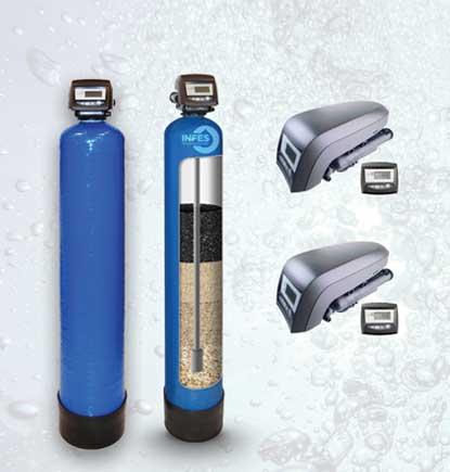 Mechaniniai filtrai. Mechaniniai vandens filtrai. Mechaniniai vandens valymo filtrai su automatine regeneracija (savaime prasiplaunantys filtrai). Mechaninis vandens valymas, mechaniniai vandens valymo filtrai - INFES technologijos.