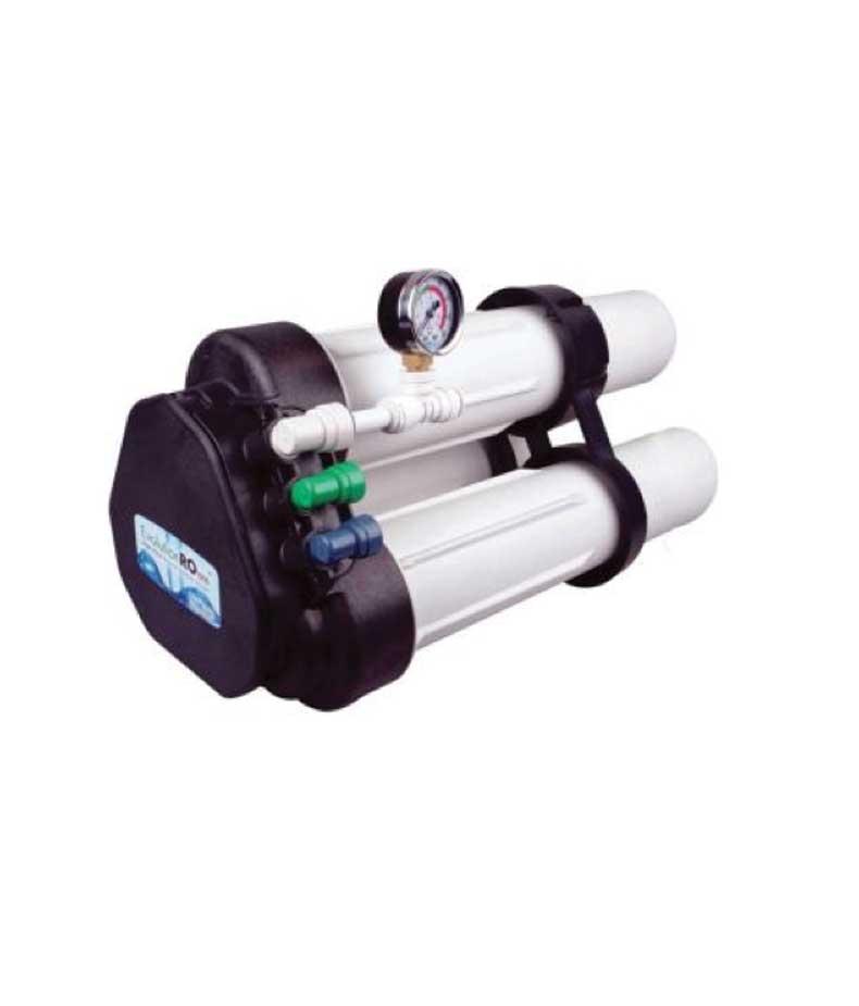 Atbulinio osmoso sistema PRF-RO MERLIN. Atbulinio osmoso 4 pakopų filtravimo sistema PRF-RO MERLIN. Atbulinio osmoso 4 pakopų vandens filtravimo sistema su PENTAIR (JAV) filtravimo membrana - INFES technologijos.