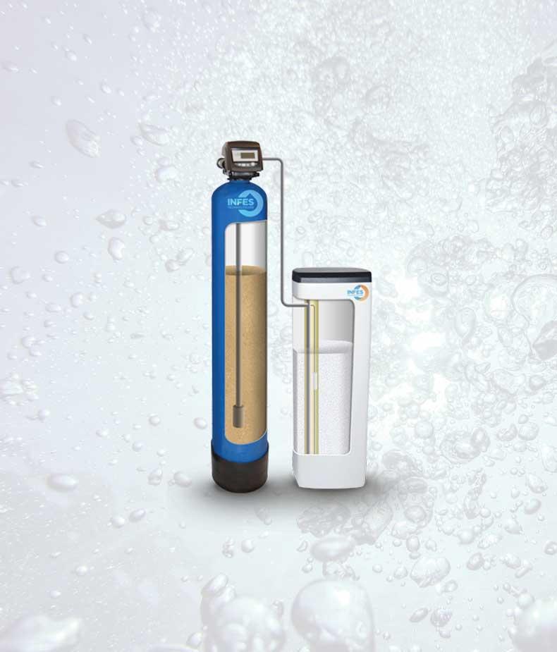 Automatinis minkštinimo filtras, automatinis vandens minkštinimo filtras Autotrol S-15 D9. Vandens minkštinimo filtras Autotrol S-15 D9, minkštinimo filtras, automatinis vandens minkštinimo filtras - INFES technologijos.