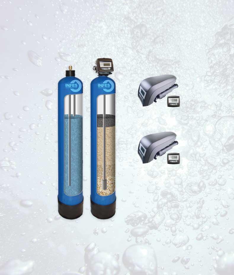 Savaime prasiplaunantis, automatinis geležies valymo filtras Autotrol IRA-15T* Geležies valymo filtras su automatine regeneracija, savaime prasiplaunantis geležies valymo filtras - INFES technologijos.
