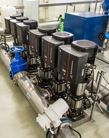 Vandens tiekimo, valymo ir filtravimo įrenginiai bei sistemos energetikos pramonei - INFES technologijos.