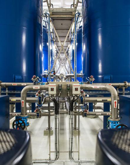 Vandens tiekimo, valymo ir filtravimo įrenginiai bei sistemos naftos pramonei - INFES technologijos.