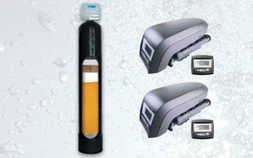Daugiafunkcinis, savaime prasiplaunantis vandens filtras: vandens minkštinimo ir  nugeležinimo filtras. Mangano, amonio, organinių medžiagų šalinimo filtras Autotrol Ex 10/54