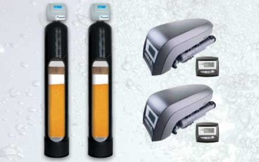 Vandens minkštinimo ir nugeležinimo filtras su automatine regeneracija. Mangano, amonio, organinių medžiagų šalinimo filtras Autotrol Ex 12/52. Daugiafunkcinis, savaime prasiplaunantis vandens filtras Autotrol Ex 12/52.