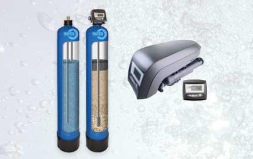 Automatinis geležies valymo filtras Autotrol IRA-13T* Geležies valymo filtras su automatine regeneracija, savaime prasiplaunantis geležies valymo filtras - INFES technologijos.