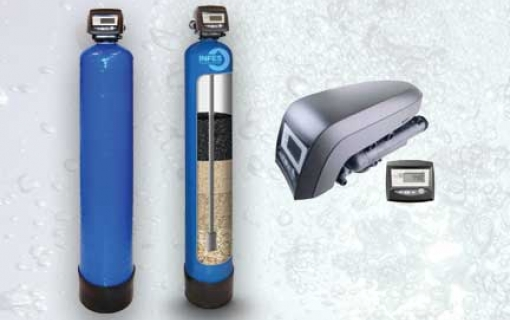 Mechaninis vandens valymo filtras - Autotrol SD 20T. Mechaninis vandens valymo filtras su automatine regeneracija (savaime prasiplaunantys vandens filtras) – INFES technologijos.