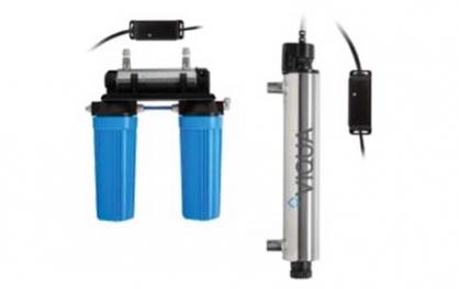 UV filtravimo lempa. UV vandens filtravimo lempa Viqua VT-DSW, ultravioletinė vandens  dezinfekavimo lempa. UV filtravimo lempa, ultravioletinė lempa, UV vandens dezinfekavimo lempa - INFES technologijos.