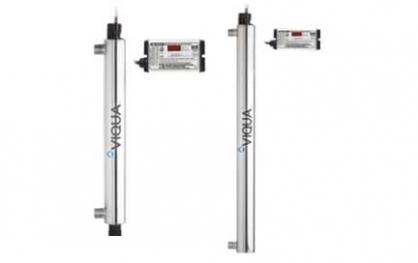 UV filtravimo lempa. UV vandens filtravimo lempa Viqua S5Q-PA/2, ultravioletinė vandens dezinfekavimo lempa. UV filtravimo lempa, ultravioletinė lempa, UV vandens dezinfekavimo lempa - INFES technologijos.